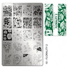Moyra Основа за печат № 10 Florality 2