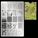 Moyra Шаблон за печат № 98 Texture 2