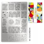 Moyra Шаблон за печат № 48 Colourbook