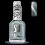 Moyra Stamping lak 30 Silver Cat eye Magnet