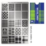 Moyra Шаблон за печат №02 Fabric Texture