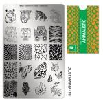 Moyra Шаблон за печат №04 Animalistic